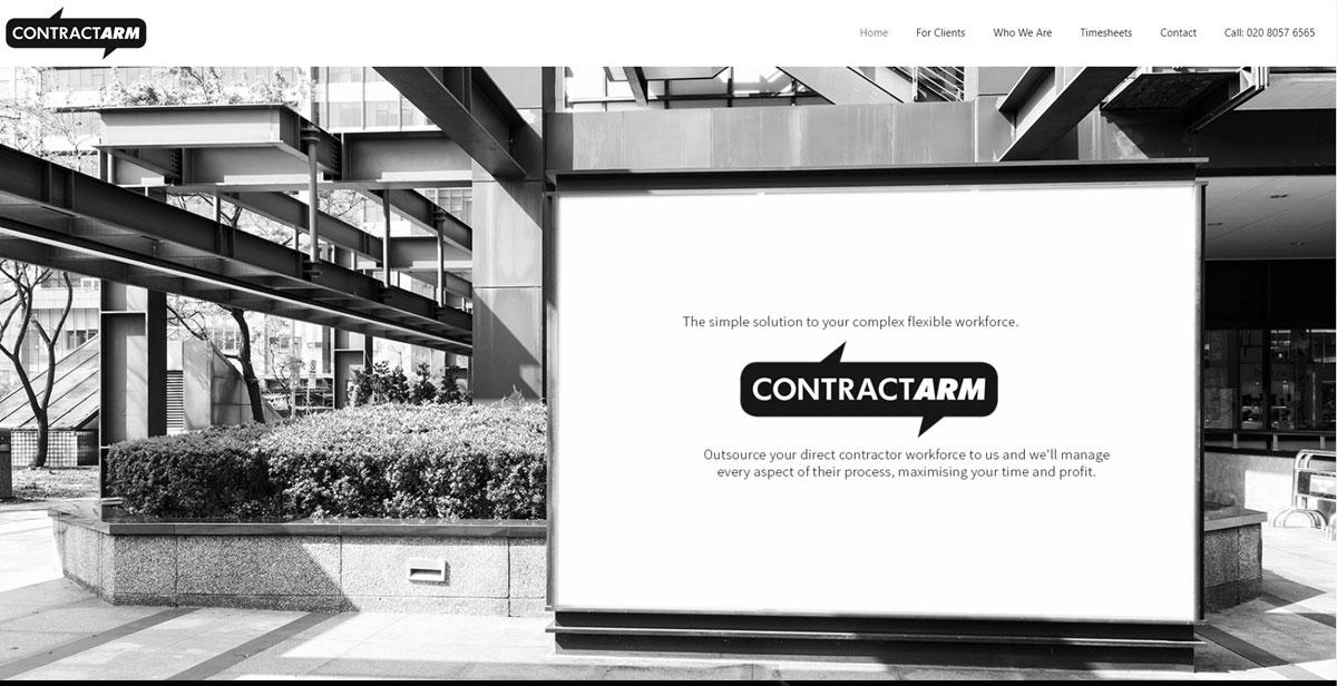 Contractarm website