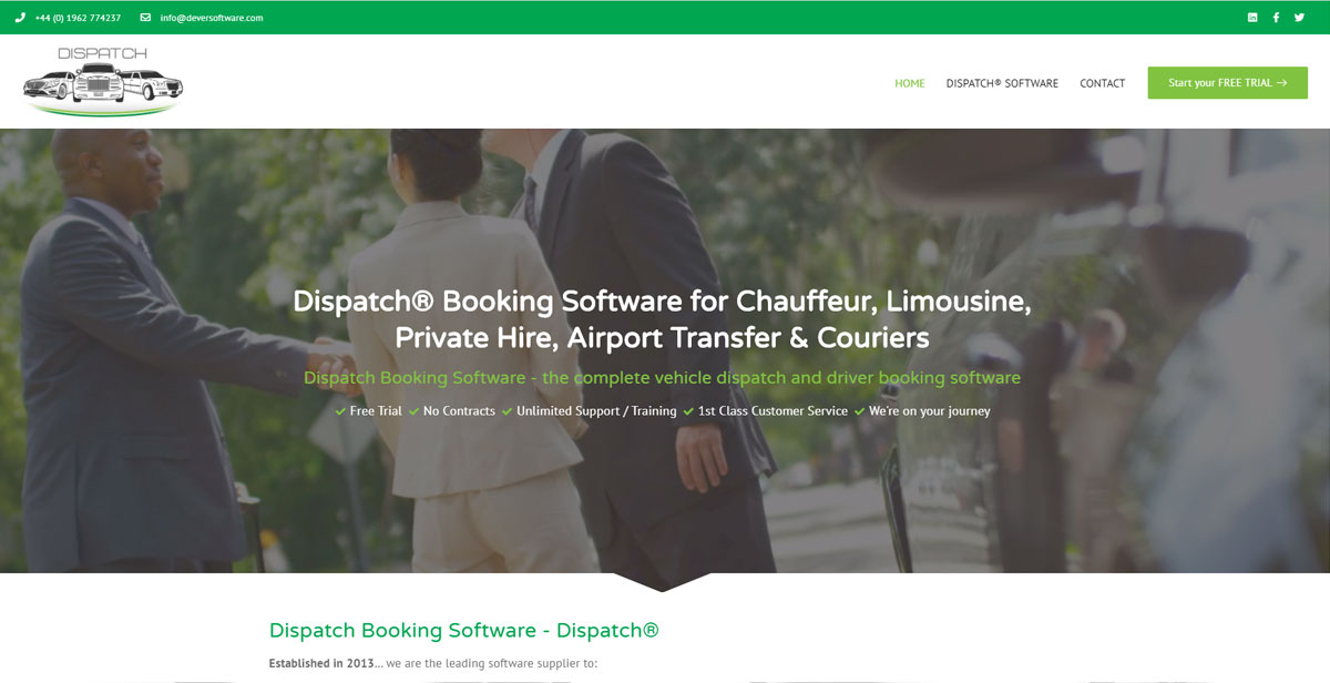 dispatch software website