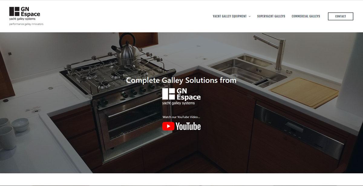 GN Espace website
