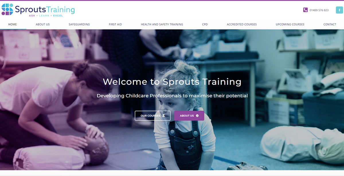 sprouts training website